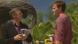 Paul Robinson, Rhys Lawson in Neighbours Episode 6377
