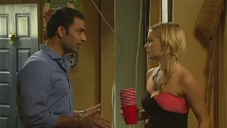 Ajay Kapoor, Natasha Williams in Neighbours Episode 6377