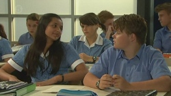 Rani Kapoor, Sophie Ramsay, Callum Jones in Neighbours Episode 6384