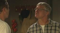 Karl Kennedy, Morris Olsen in Neighbours Episode 6384