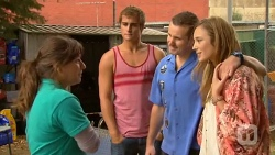Astrid Quinn, Kyle Canning, Toadie Rebecchi, Sonya Mitchell in Neighbours Episode 6386