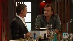 Paul Robinson, Lucas Fitzgerald in Neighbours Episode 6386