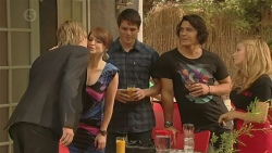 Andrew Robinson, Summer Hoyland, Chris Pappas, Aidan Foster, Natasha Williams in Neighbours Episode 6391