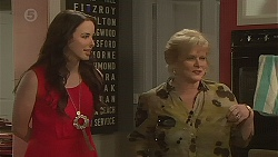 Kate Ramsay, Sheila Canning in Neighbours Episode 6395