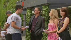 Chris Pappas, Paul Robinson, Natasha Williams, Summer Hoyland in Neighbours Episode 6396