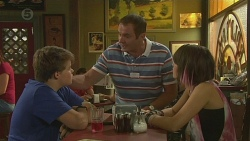 Callum Jones, Karl Kennedy, Sophie Ramsay in Neighbours Episode 6397