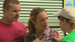 Toadie Rebecchi, Sonya Mitchell, Callum Jones in Neighbours Episode 6397