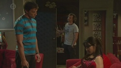Rhys Lawson, Lucas Fitzgerald, Vanessa Villante in Neighbours Episode 6400
