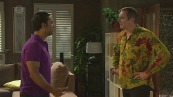 Ajay Kapoor, Karl Kennedy in Neighbours Episode 6401