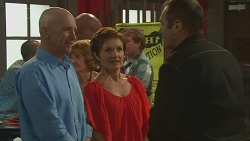 Bernard Cabello, Susan Kennedy, Karl Kennedy in Neighbours Episode 6401