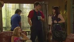 Aidan Foster, Natasha Williams, Chris Pappas, Summer Hoyland in Neighbours Episode 6402