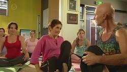Vanessa Villante, Susan Kennedy, Sonya Mitchell, Bernard Cabello in Neighbours Episode 6402