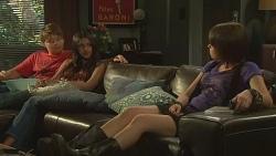 Callum Jones, Rani Kapoor, Sophie Ramsay in Neighbours Episode 6404