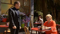 Paul Robinson, Sheila Canning in Neighbours Episode 6405