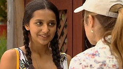 Rani Kapoor, Sonya Mitchell in Neighbours Episode 6405