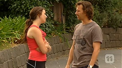 Kate Ramsay, Lucas Fitzgerald in Neighbours Episode 6407