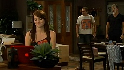 Summer Hoyland, Karl Kennedy, Rhys Lawson in Neighbours Episode 6409