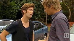 Griffin O'Donahue, Andrew Robinson in Neighbours Episode 6410
