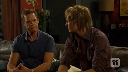 Paul Robinson, Andrew Robinson in Neighbours Episode 6411