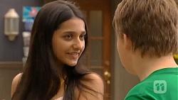Rani Kapoor, Callum Jones in Neighbours Episode 6411