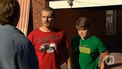 Captain Troy Miller, Toadie Rebecchi, Callum Jones in Neighbours Episode 6411