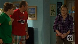 Callum Jones, Toadie Rebecchi, Sonya Mitchell in Neighbours Episode 6412