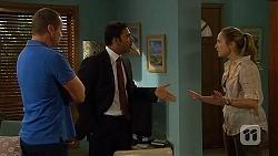 Toadie Rebecchi, Ajay Kapoor, Sonya Mitchell in Neighbours Episode 6412