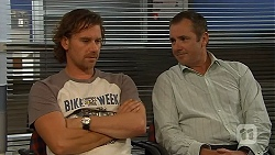 Lucas Fitzgerald, Karl Kennedy in Neighbours Episode 6415