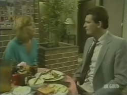 Andrea Townsend, Des Clarke in Neighbours Episode 0238