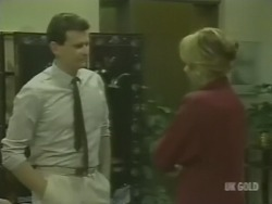 Des Clarke, Andrea Townsend in Neighbours Episode 0238