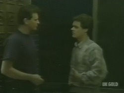 Des Clarke, Paul Robinson in Neighbours Episode 0239