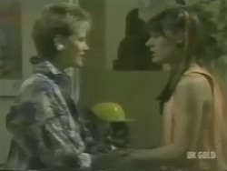 Daphne Clarke, Zoe Davis in Neighbours Episode 0239