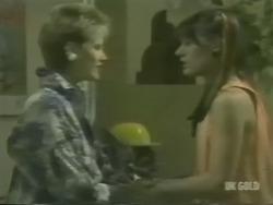 Daphne Lawrence, Zoe Davis in Neighbours Episode 0239