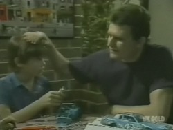 Bradley Townsend, Des Clarke in Neighbours Episode 0239