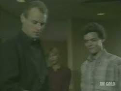 Jim Robinson, Andrea Townsend, Paul Robinson in Neighbours Episode 0239