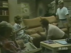 Helen Daniels, Madge Bishop, Max Ramsay, Shane Ramsay in Neighbours Episode 0239