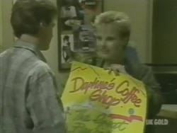 Paul Robinson, Daphne Lawrence in Neighbours Episode 0239