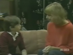 Bradley Townsend, Andrea Townsend in Neighbours Episode 0240