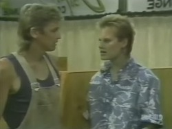 Shane Ramsay, Daphne Clarke in Neighbours Episode 0240