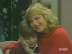 Bradley Townsend, Andrea Townsend in Neighbours Episode 0241