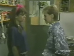 Zoe Davis, Daphne Clarke in Neighbours Episode 0241