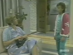 Eileen Clarke, Lucy Robinson in Neighbours Episode 0241
