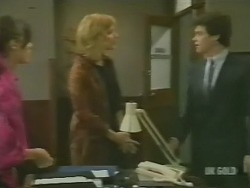 Zoe Davis, Andrea Townsend, Paul Robinson in Neighbours Episode 0242