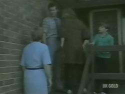 Eileen Clarke, Des Clarke, Andrea Townsend, Bradley Townsend in Neighbours Episode 0243