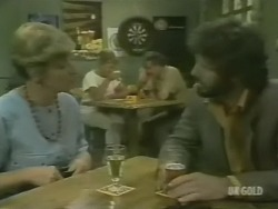 Eileen Clarke, Gavin McKinley in Neighbours Episode 0243