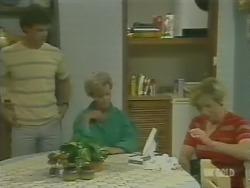 Paul Robinson, Helen Daniels, Eileen Clarke in Neighbours Episode 0246