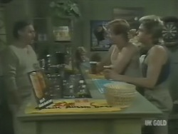 Jack Lassiter, Clive Gibbons, Shane Ramsay in Neighbours Episode 0246