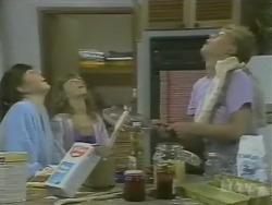 Nikki Dennison, Charlene Mitchell, Scott Robinson in Neighbours Episode 0247