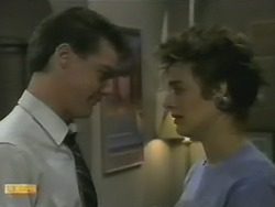 Paul Robinson, Gail Robinson in Neighbours Episode 0736