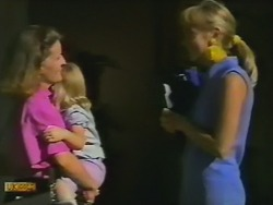 Nina Williams, Amy Williams, Jane Harris in Neighbours Episode 0736